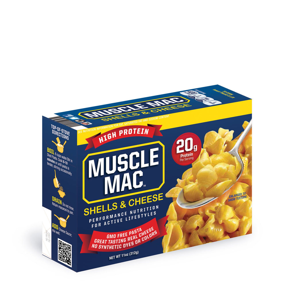 Muscle Mac: Macaroni & Cheese: Shells