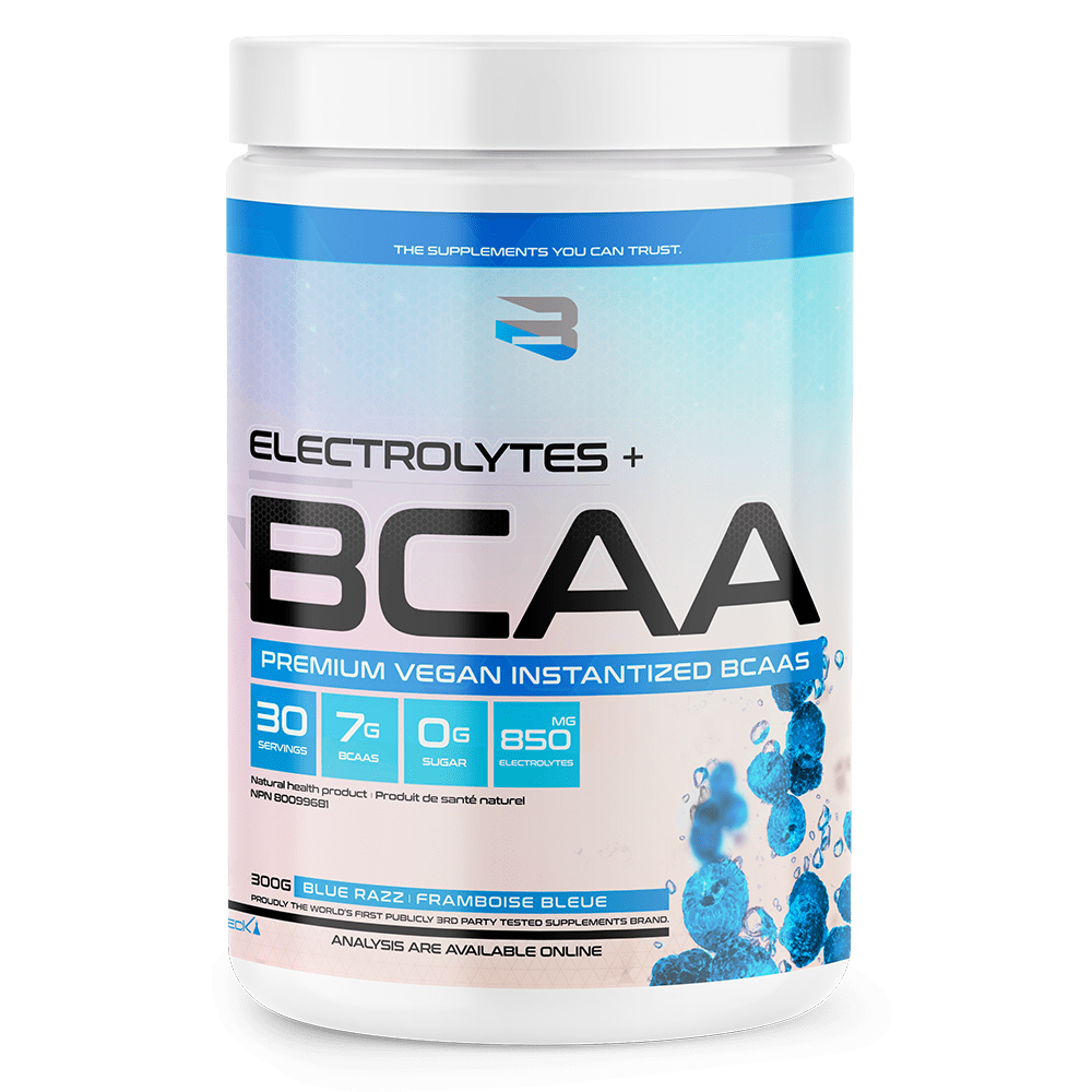 Believe Supplements: Electrolytes + BCAA