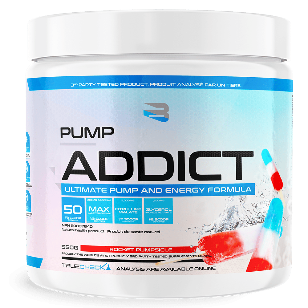 Believe Supplements: Pump Addict