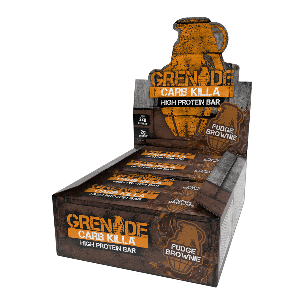 Grenade Carb Killa Box - Fudge Brownie