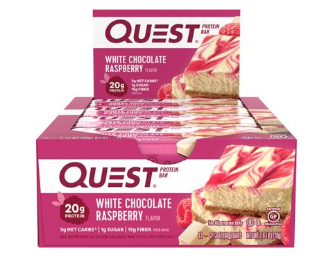 Quest Box - White Chocolate Raspberry