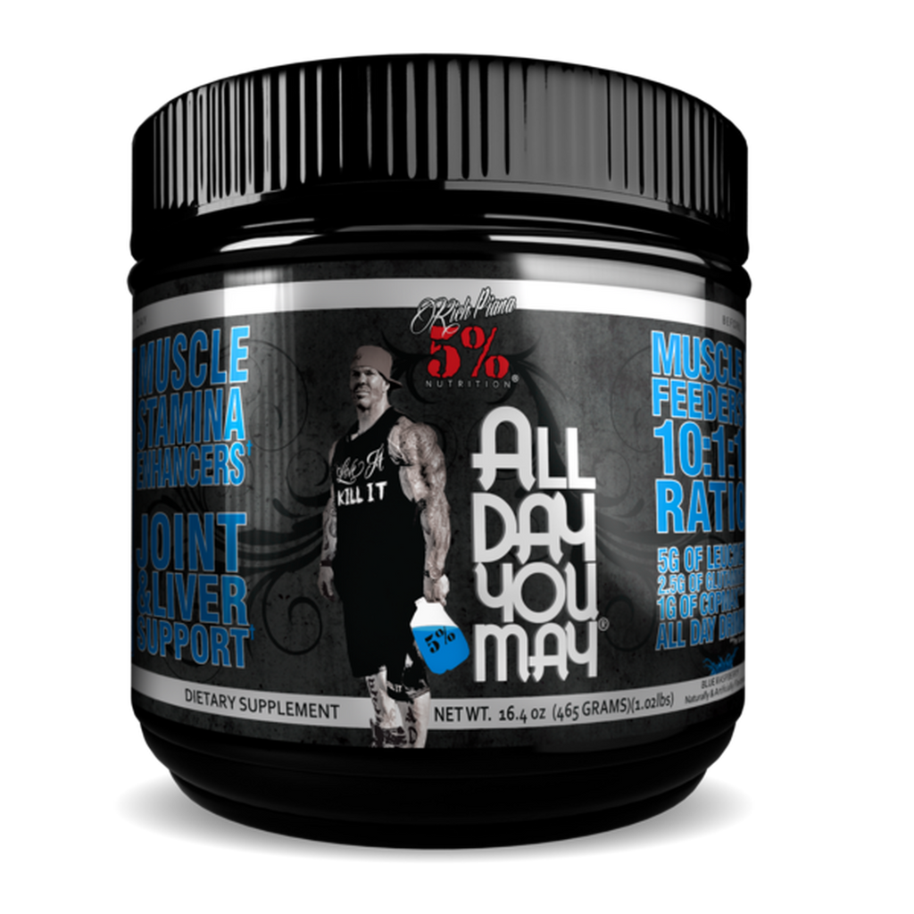 5% Nutrition: All Day You May BCAA