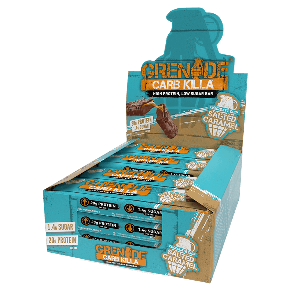 Grenade Carb Killa Box - Chocolate Chip Salted Caramel
