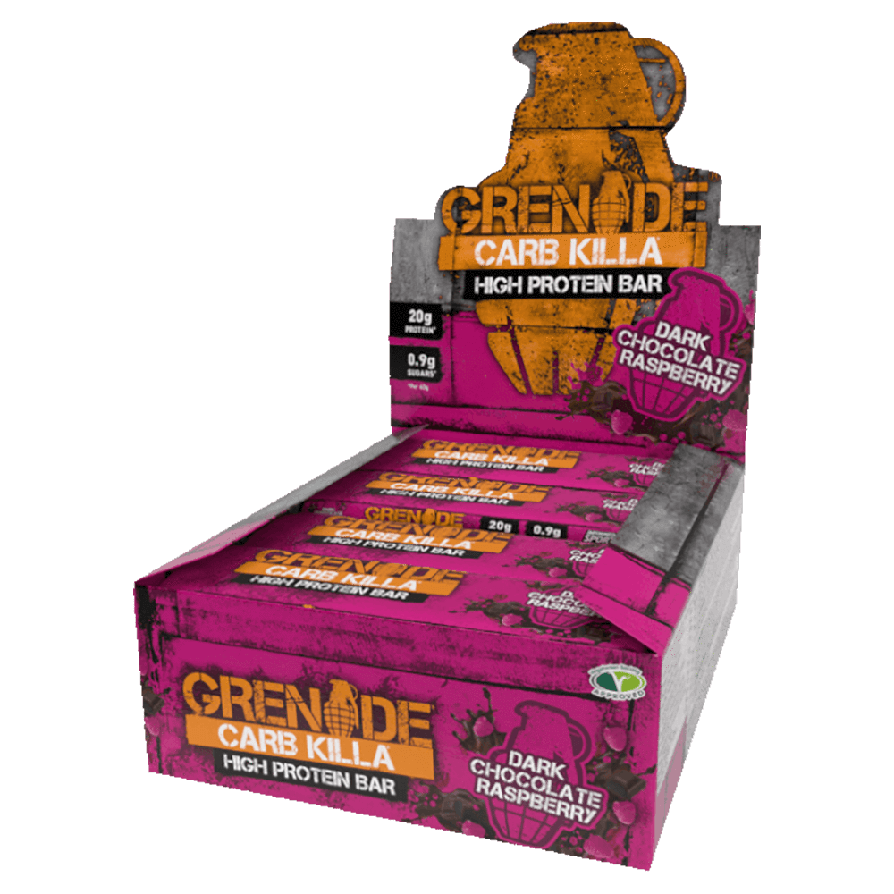 Grenade Carb Killa Box - Raspberry