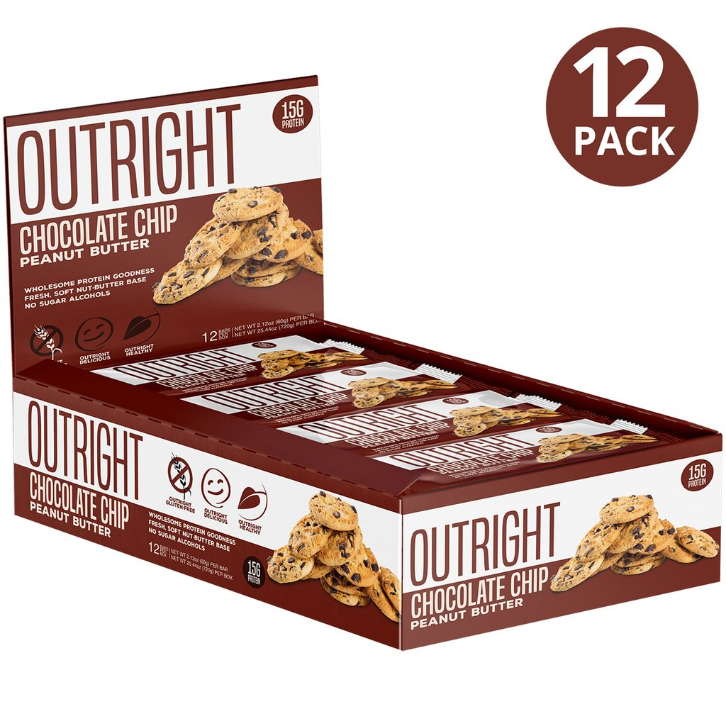 MTS Nutrition: Outright Bar box - Chocolate Chip PB