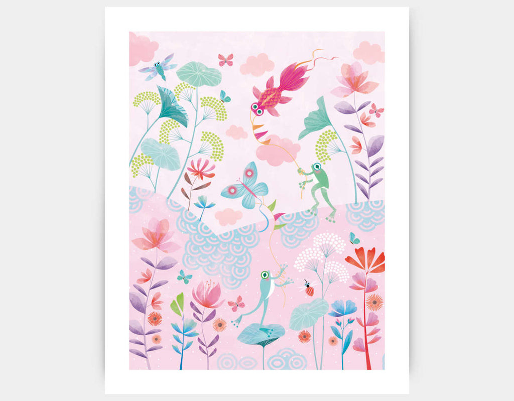 Spring Afternoon Art Print by Marie-Rose Boisson - Large
