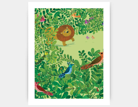 Hide and Seek Art Print by Kay Widdowson - Large