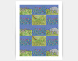 Jungle Patches Art Print by Jenny Reynish - Large
