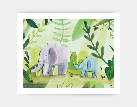 Follow the Leader Art Print by Chloe Evans - Large