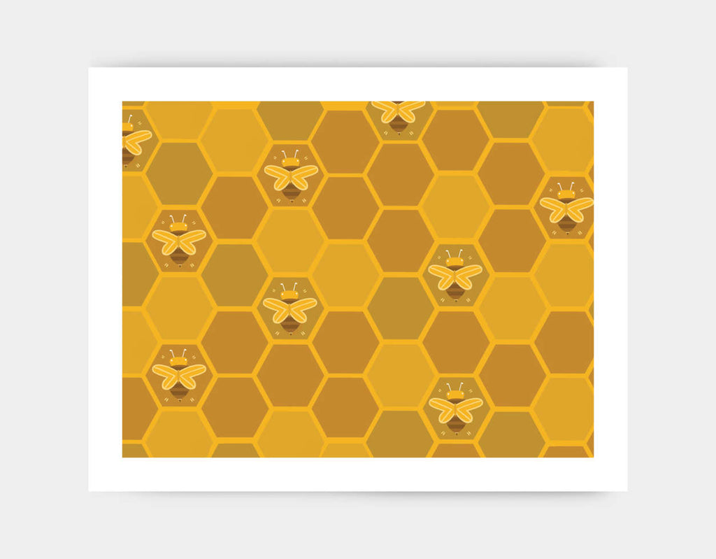 The Beehive Art Print by Erin McLaughlin - Large