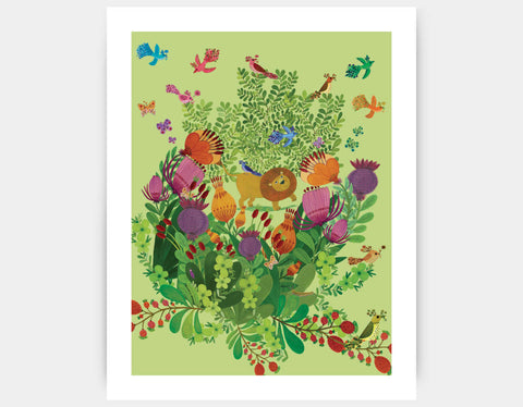 Wild Things Art Print by Kay Widdowson - Large