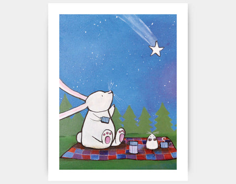 Make a Wish Art Print by Andrea Doss - Large
