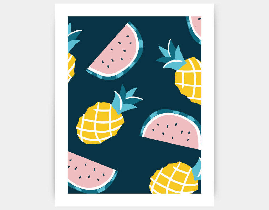 Fruity Goodness Art Print by Kelly Breemer - Large