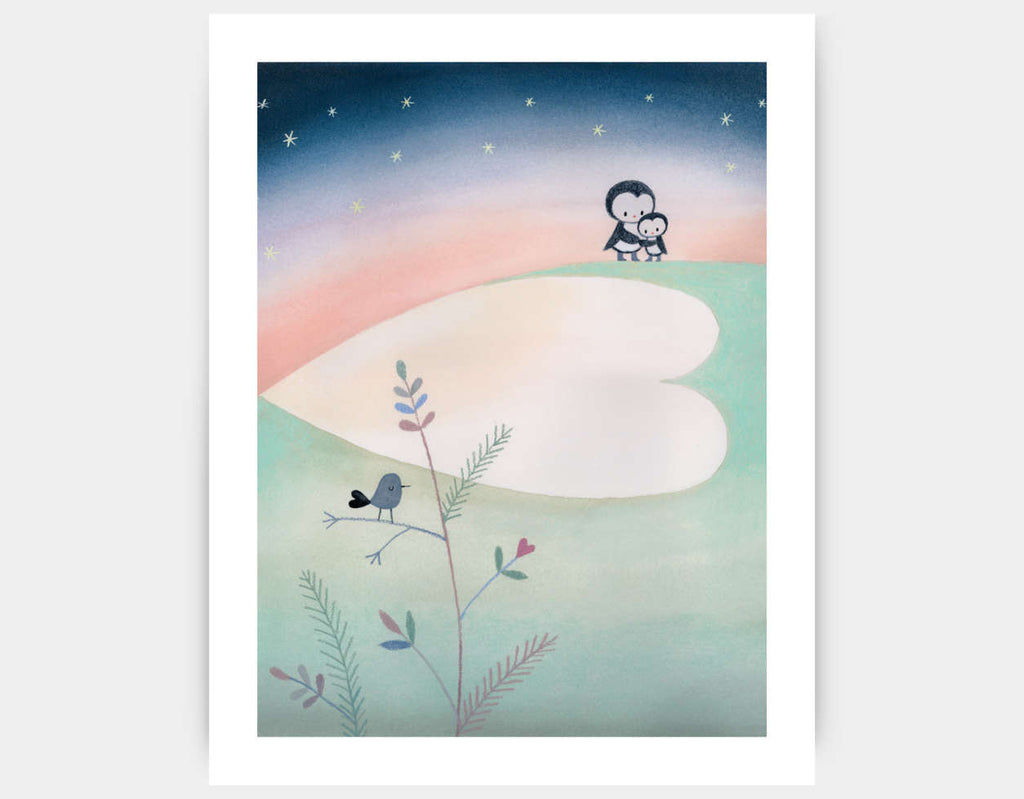 Polar Adventure Art Print by Dubravka Kolanovic - Large
