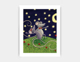Tango by Moonlight Art Print by Julia Collard - Medium