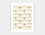 Busy Squirrel Banner Art Print by Paola Zakimi - Medium