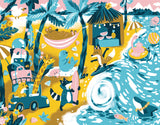 Vacation Joy Art Print by Kelly Breemer - Design