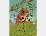 Bear's Jam Session Art Print by Julia Collard - Design