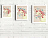 Magical Unicorn Art Print by Valentina Belloni - Lifestyle