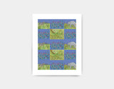 Jungle Patches Art Print by Jenny Reynish - Small