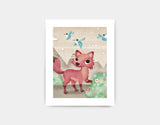Magical Fox Art Print by Valentina Belloni - Small