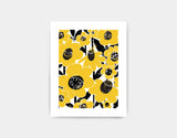 Flower Field Art Print by Pragya Kothari - Small