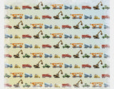Construction Vehicles Sherpa Blanket by Brett Blumenthal - Design