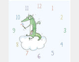Dragon Painter Clock by Julie Parker - Design