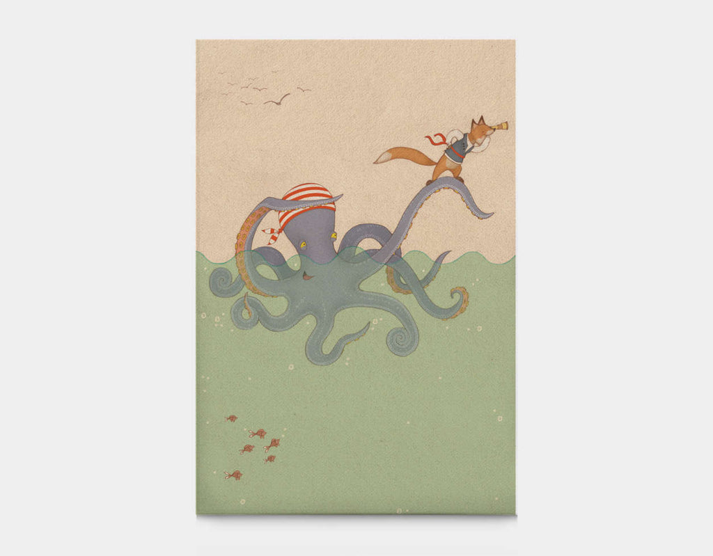 Octoscope Canvas Print