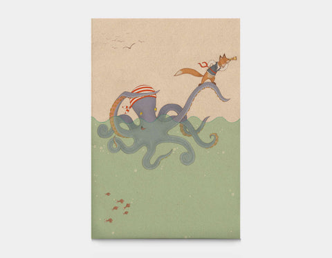 Octoscope Canvas Print by Alexandra Ball - Large