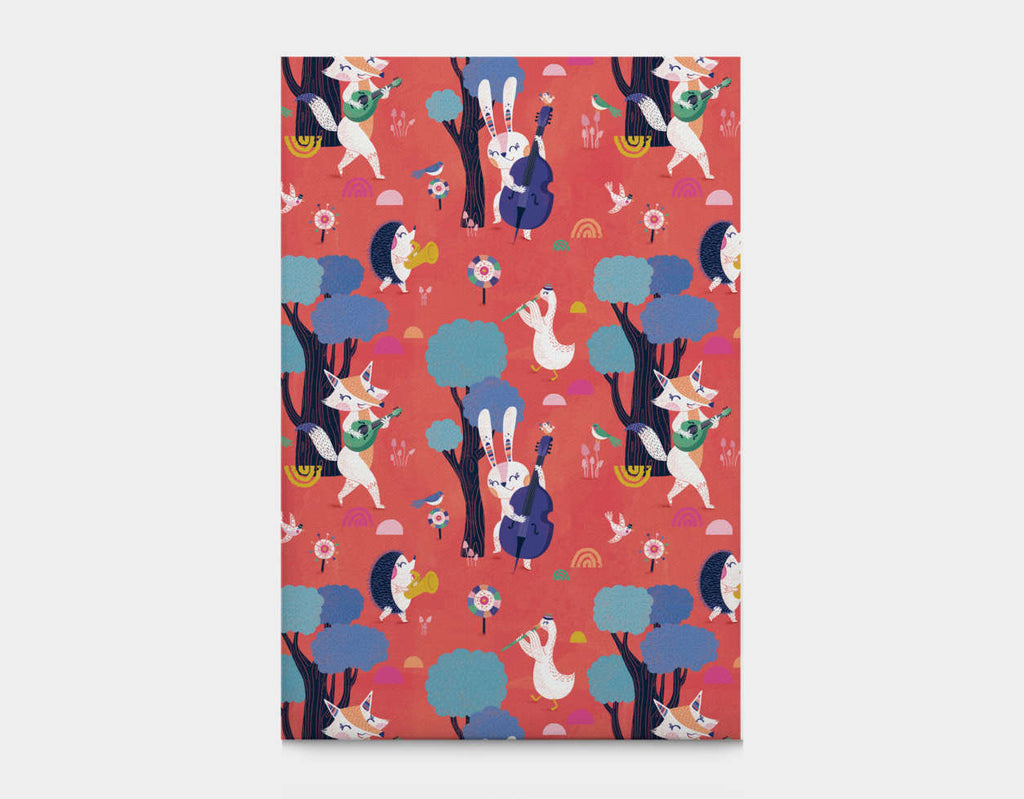 Forest Party Canvas Print by Antoana Oreski - Large