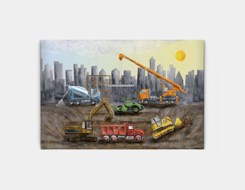Under Construction Canvas Print by Brett Blumenthal - Large