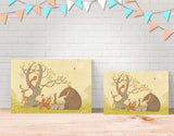 Picnic Under the Tree Canvas Print by Alexandra Ball - Lifestyle