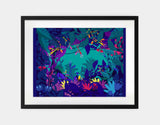 Wild Jungle Framed Art by Alexandra Petracchi - Large / Black