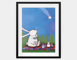 Make a Wish Framed Art by Andrea Doss - Large / Black