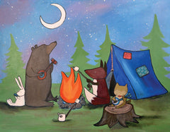 Camping Themed Wall Art