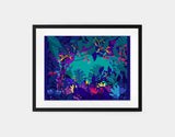 Wild Jungle Framed Art by Alexandra Petracchi - Medium / Black