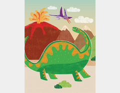 Dinosaur Themed Wall Art Boys Rooms