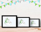 Dragon Painter Framed Art by Julie Parker - Lifestyle