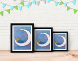 Goodnight, Owl Framed Art by Andrea Doss - Lifestyle
