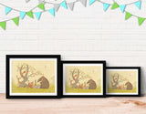 Picnic Under the Tree Framed Art by Alexandra Ball - Lifestyle