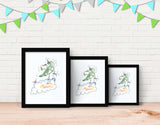 Jumping Dragon Framed Art by Julie Parker - Lifestyle