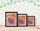 Tire Swingin' Framed Art by Julia Collard - Lifestyle