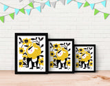 Proud Lion Framed Art by Pragya Kothari - Lifestyle