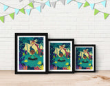 Lotus Pose Framed Art by Alexandra Petracchi - Lifestyle
