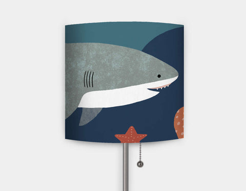 Silly Sharks Lamp by Emily Dove - Main