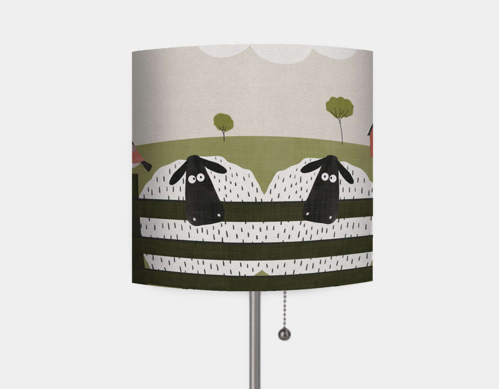 On the Farm Lamp by Mel Armstrong - Main