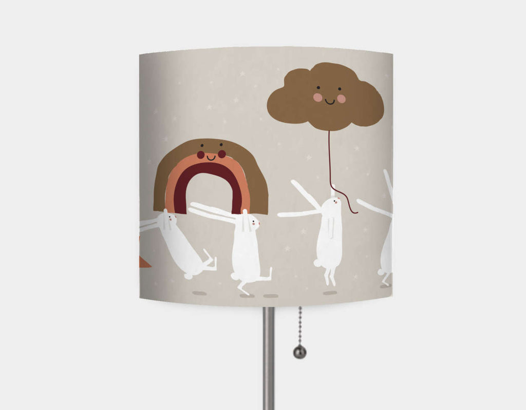 Happy Bunnies and The Moon Lamp by Sue Downing - Main