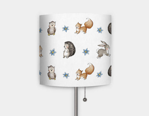 Woodland Pattern Lamp by Anna Abramskaya - Main