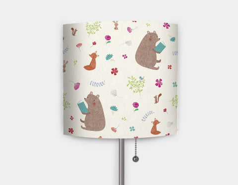 Storytime Pattern Lamp by Emma Talbot - Main